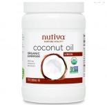 Kokosnoot Olie, Biologisch & Extra Vierge (858 gram) - Nutiva