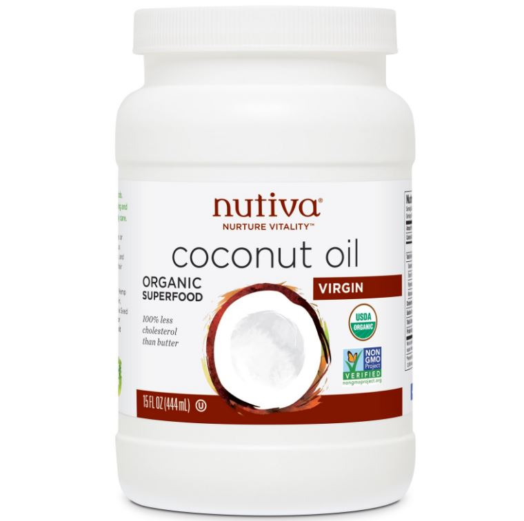Nutiva Organic Extra Virgin Coconut Oil - 444ml