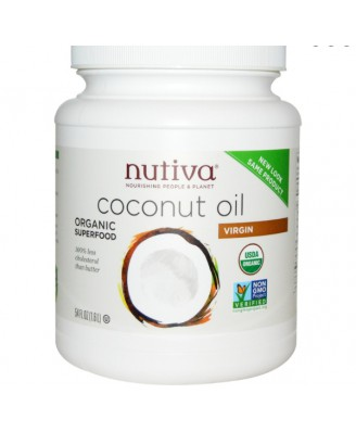 Organic Virgin Coconut Oil (1600 ml) - Nutiva