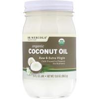 Organic Extra Virgin Coconut Oil (385 g) - Dr. Mercola